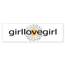 girllovegirl Bumper Bumper Sticker