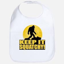 Keep It Squatchy! - Bark at the Moon Bib