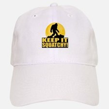 Keep It Squatchy! - Bark at the Moon Baseball Baseball Cap