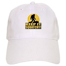 Keep It Squatchy! - Bark at the Moon Baseball Cap
