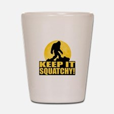 Keep It Squatchy! - Bark at the Moon Shot Glass