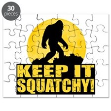 Keep It Squatchy! - Bark at the Moon Puzzle