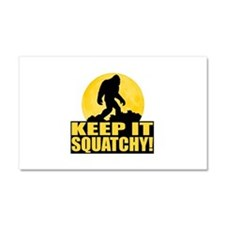 Keep It Squatchy! - Bark at the Moon Car Magnet 20