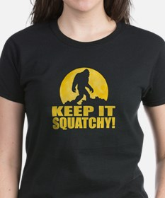 Keep It Squatchy! - Bark at the Moon Tee