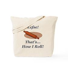 Lefse How I Roll Tote Bag