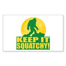 Keep It Squatchy! - Bark at the Moon Decal