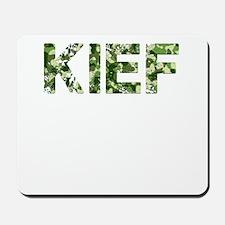 Kief, Vintage Camo, Mousepad