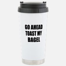Toast My Bagel Travel Mug