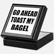 Toast My Bagel Keepsake Box