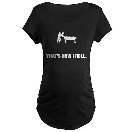 Billiard / Pool Maternity Dark T-Shirt