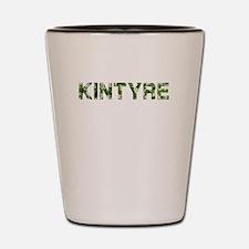 Kintyre, Vintage Camo, Shot Glass