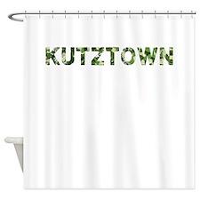 Kutztown, Vintage Camo, Shower Curtain