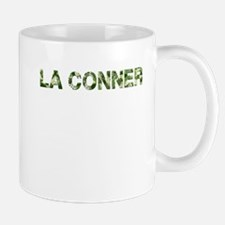 La Conner, Vintage Camo, Mug