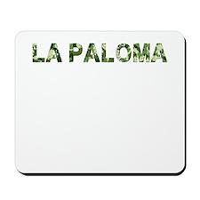 La Paloma, Vintage Camo, Mousepad