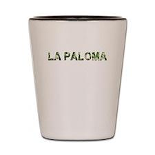 La Paloma, Vintage Camo, Shot Glass