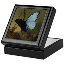 Butterfly Painting Keepsake Box