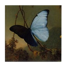 Butterfly Painting Tile Coaster