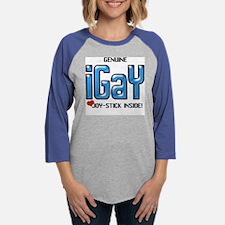 10x10_appare_iGaypsd copy.jpg Womens Baseball Tee