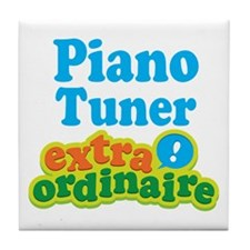 Piano Tuner Extraordinaire Tile Coaster