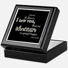As soon as I saw you: Adventure Keepsake Box