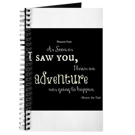 As soon as I saw you: Adventure Journal