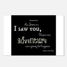 As soon as I saw you: Adventure Postcards (Package