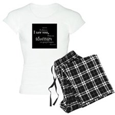 As soon as I saw you: Adventure Pajamas