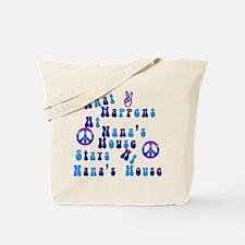 Peace Nanas House.png Tote Bag