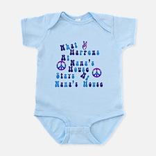 Peace Nanas House.png Infant Bodysuit