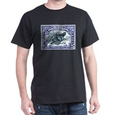1931 North Borneo Clouded Leopard Stamp T-Shirt