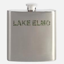 Lake Elmo, Vintage Camo, Flask