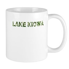 Lake Kiowa, Vintage Camo, Small Mug
