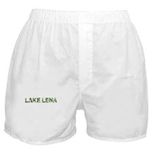 Lake Lena, Vintage Camo, Boxer Shorts