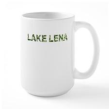 Lake Lena, Vintage Camo, Mug