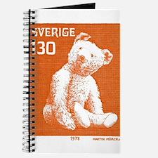 1978 Sweden Teddy Bear Postage Stamp Journal