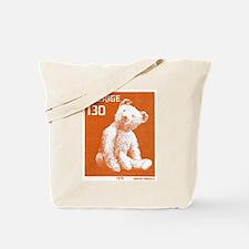 1978 Sweden Teddy Bear Postage Stamp Tote Bag