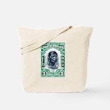 1931 North Borneo Headhunter Postage Stamp Tote Ba