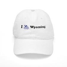 Swim Wyoming Baseball Cap
