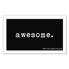 """Awesome"" Decal"