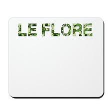 Le Flore, Vintage Camo, Mousepad