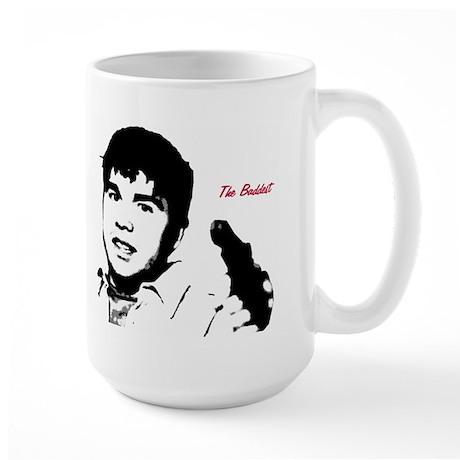 "Krispy Kreme Rapper ""The Baddest"" Print Large Mug"