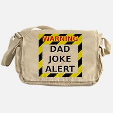 Dad joke alert Messenger Bag