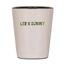 LeeS Summit, Vintage Camo, Shot Glass