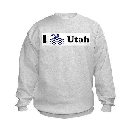 Swim Utah Kids Sweatshirt