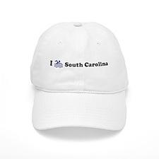 Swim South Carolina Baseball Cap