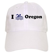 Swim Oregon Baseball Cap