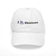 Swim Oklahoma Baseball Cap