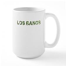Los Banos, Vintage Camo, Mug