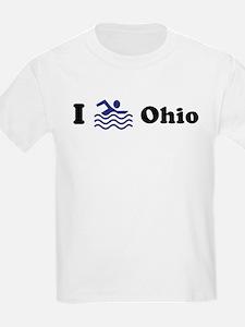 Swim Ohio Kids T-Shirt