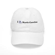 Swim North Carolina Baseball Cap